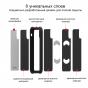 Противоударный карбоновый чехол Pitaka MagEZ Case PRO для iPhone X (10) черно-серый в полоску