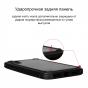 Противоударный чехол Pitaka MagCase PRO для iPhone X (10) серо-черный в полоску