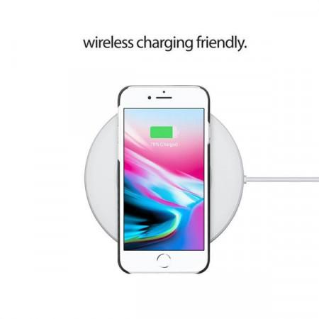 Чехол Pitaka MagEZ Case для iPhone 8 черно-серый в полоску , кевлар (арамид)