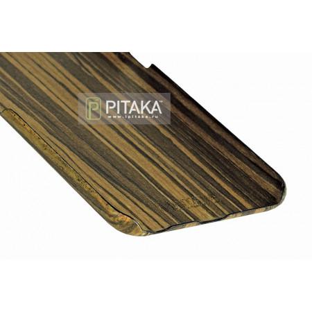 чехол Pitaka из дерева для iPhone 6 Plus/6S Plus падук , кевлар (арамид)