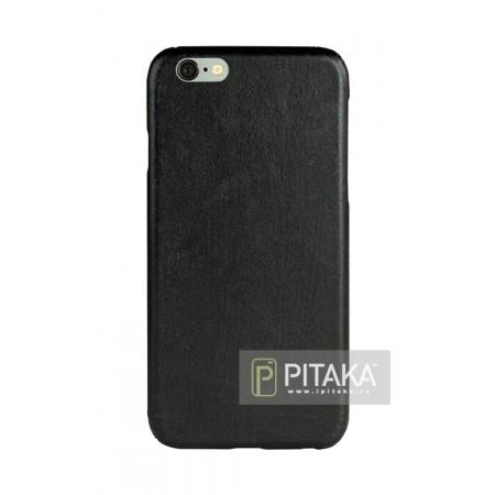 чехол Pitaka из дерева для iPhone 6/6S черный бук , кевлар (арамид)