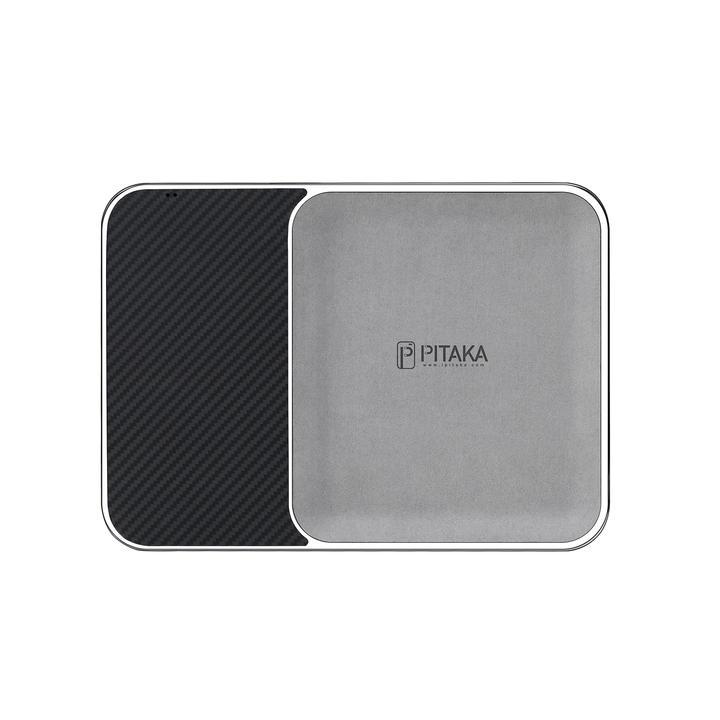 Настольное зарядное устройство Pitaka Air Tray, хромированный