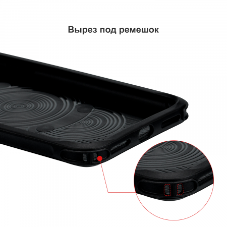 Противоударный Чехол Pitaka MagEZ Case PRO для iPhone Xs Max черно-серый в полоску , кевлар (арамид)