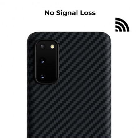 Чехол Pitaka MagEZ Case для Galaxy S20, черный , кевлар (арамид)