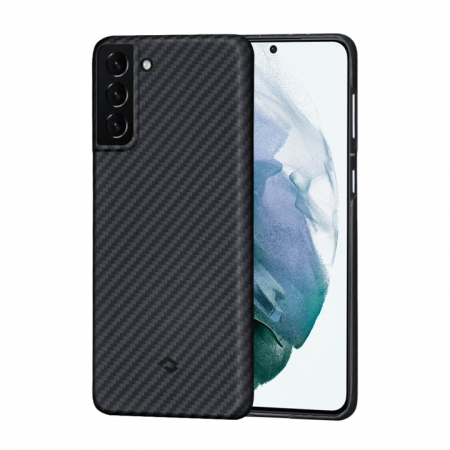 Чехол Pitaka MagEZ Case для Galaxy S21+, черный , кевлар (арамид)