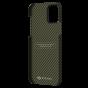 "Чехол Pitaka MagEZ Case для iPhone 12 Pro Max 6.7"", черно-зеленый, кевлар (арамид)"