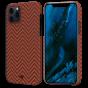 "Чехол Pitaka MagEZ Case для iPhone 12 Pro Max 6.7"", красно-оранжевый, кевлар (арамид)"