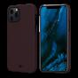 """Чехол Pitaka MagEZ Case для iPhone 12 Pro 6.1"""", черно-красный (шахматное плетение), кевлар (арамид)"""