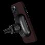 """Чехол Pitaka MagEZ Case для iPhone 12/12 Pro 6.1"""", черно-красный (шахматное плетение), кевлар (арамид)"""