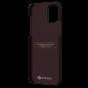 """Чехол Pitaka MagEZ Case для iPhone 12 mini 5.4"""", черно-красный (шахматное плетение), кевлар (арамид)"""