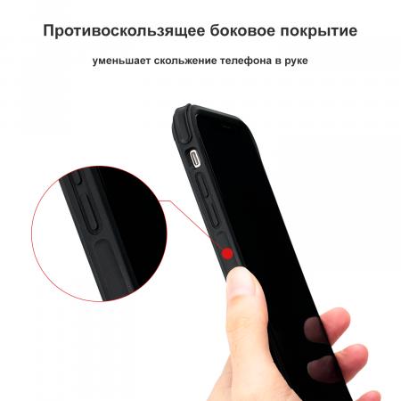 Противоударный Чехол Pitaka MagEZ Case PRO для iPhone Xr черно-серый в полоску , кевлар (арамид)