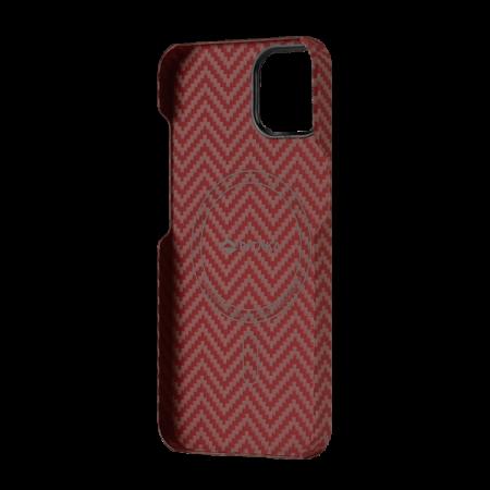"Чехол Pitaka MagEZ Case 2 для iPhone 13 mini 5.4"", оранжевый, кевлар (арамид)"