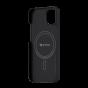 "Чехол Pitaka MagEZ Case 2 для iPhone 13 6.1"", черно-серый, кевлар (арамид)"