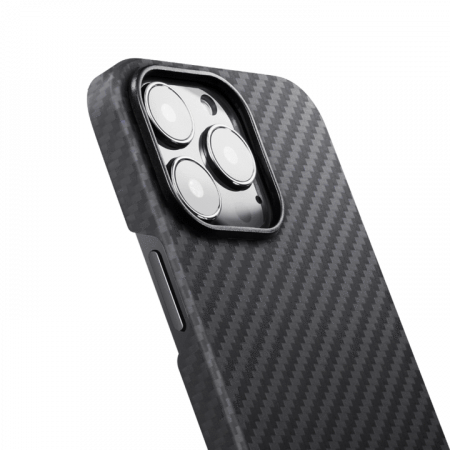 "Чехол Pitaka MagEZ Case 2 для iPhone 13 Pro 6.1"", черно-серый, кевлар (арамид)"