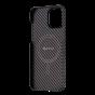 "Чехол Pitaka MagEZ Case 2 для iPhone 13 Pro 6.1"", черно-коричневый, кевлар (арамид)"