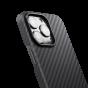"Чехол Pitaka MagEZ Case 2 для iPhone 13 Pro Max 6.7"", черно-серый, кевлар (арамид)"