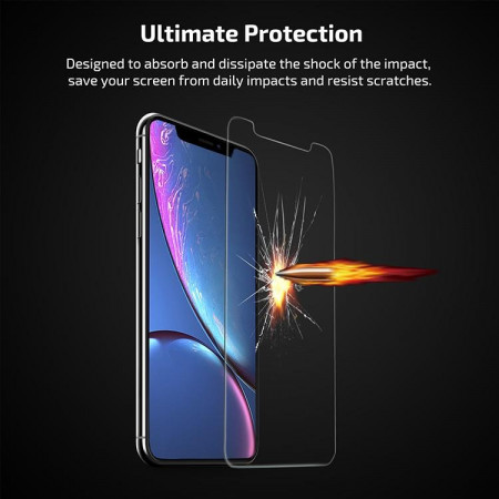 Защитное стекло Pitaka для iPhone Xr (2 стекла в комплекте)